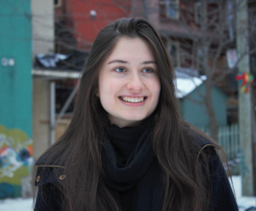Portrait de Corinne Pelletier, étudiante à la majeure en langues et cultures modernes
